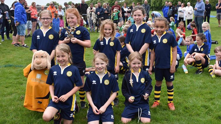 U9s Win the Frinton and Walton Summer Tournament